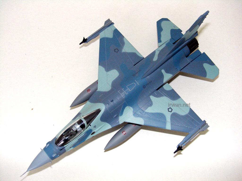 F16-Elang Biru TNI-AU
