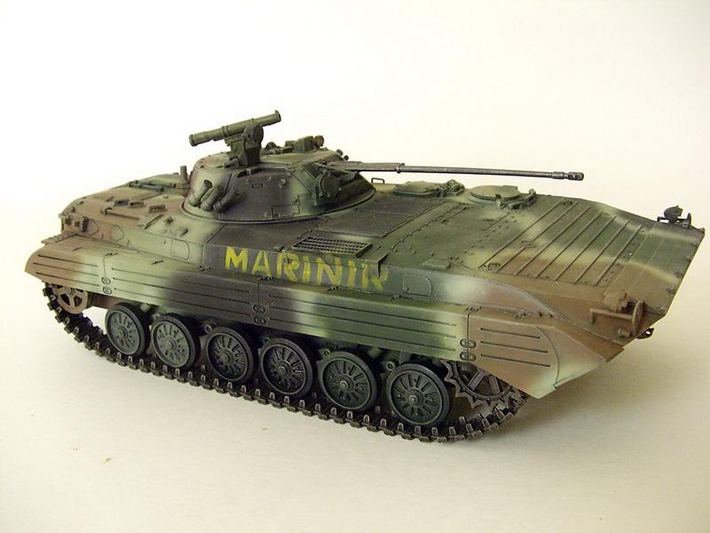 Model Kit Zvezda BVP-2 Marinir