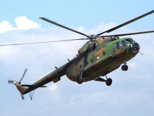 mi-7 helicopter