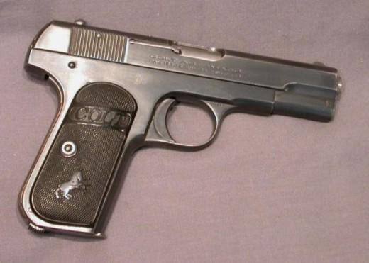 Pistol untuk menembak