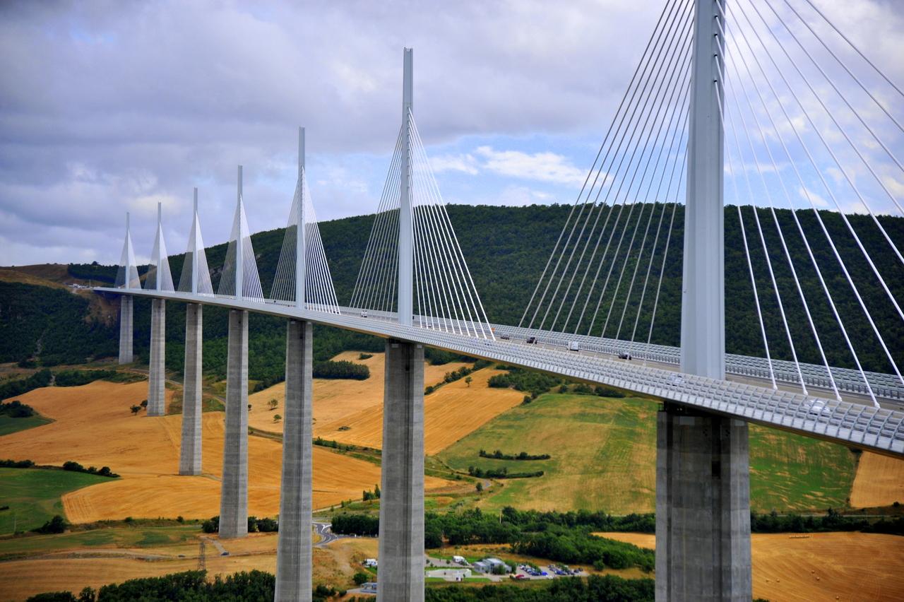 Jembatan Kabel Tertinggi di Dunia
