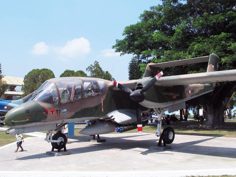 OV-10 Bronco TNI-AU Dikandangkan