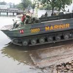 Pertempuran seru dalam peringatan HUT ke 61 TNI-AL