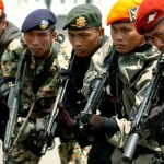 Paskhas TNI Detasemen Bravo Simulasi Anti Teroris