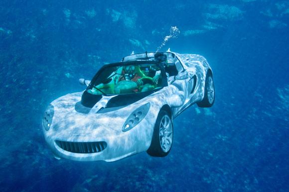 Squba, Mobil Yang Bisa Menyelam