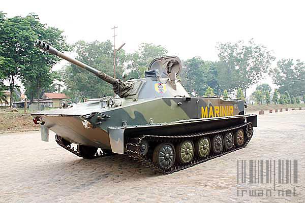 Model Kit PT-76 Marinir TNI-AL
