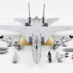 Diecast Pesawat Century Wings F-14A