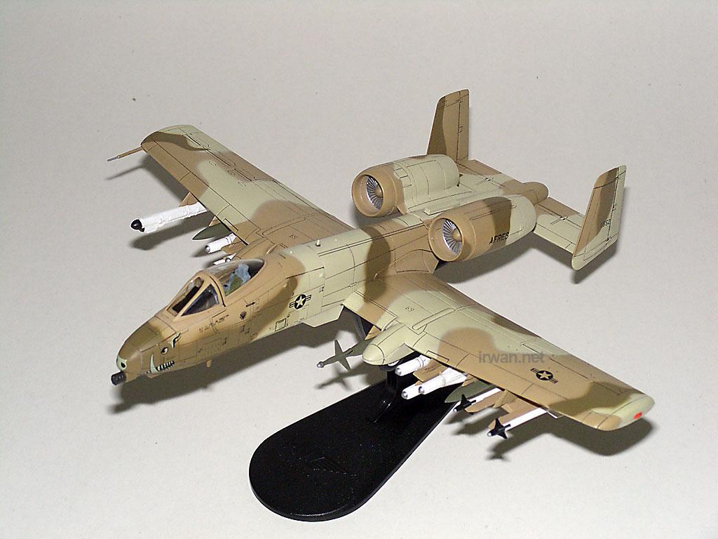 Diecast Pesawat Hobby Master A10 Thunderbolt