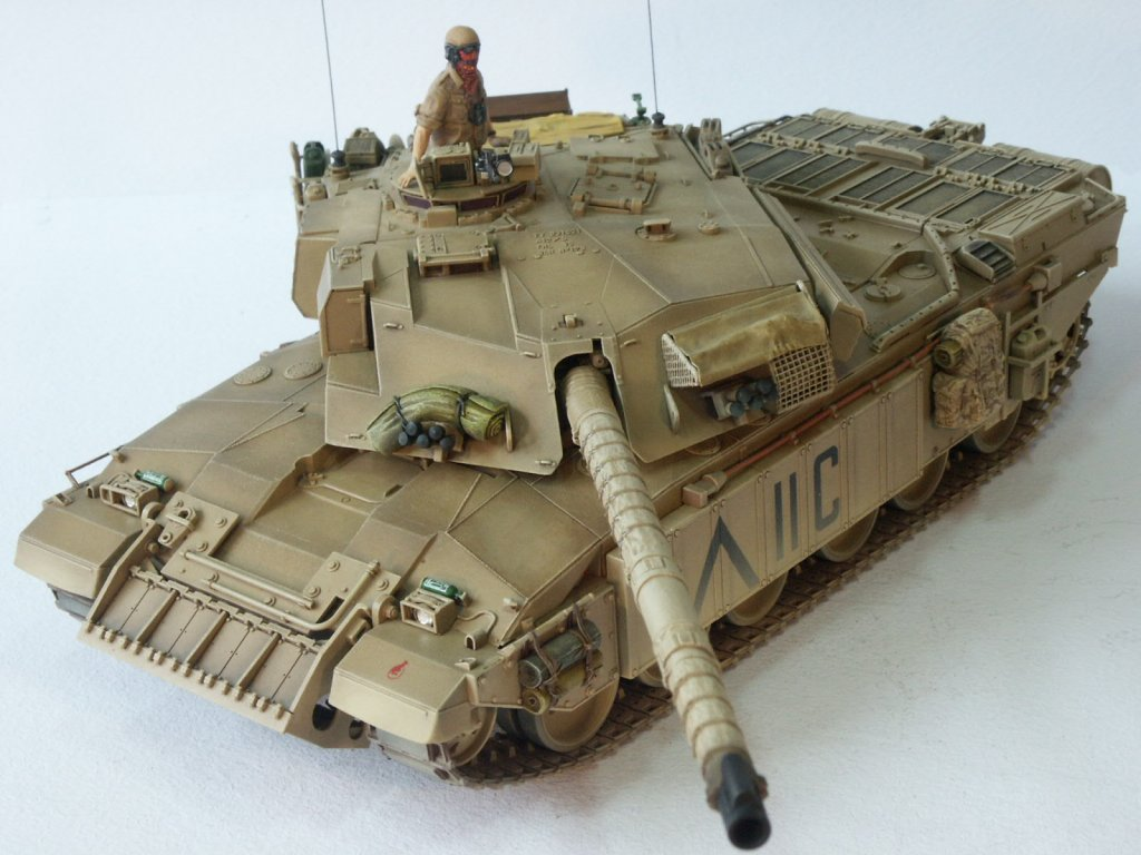 Tehnik Drybrushing Dalam Model Kit