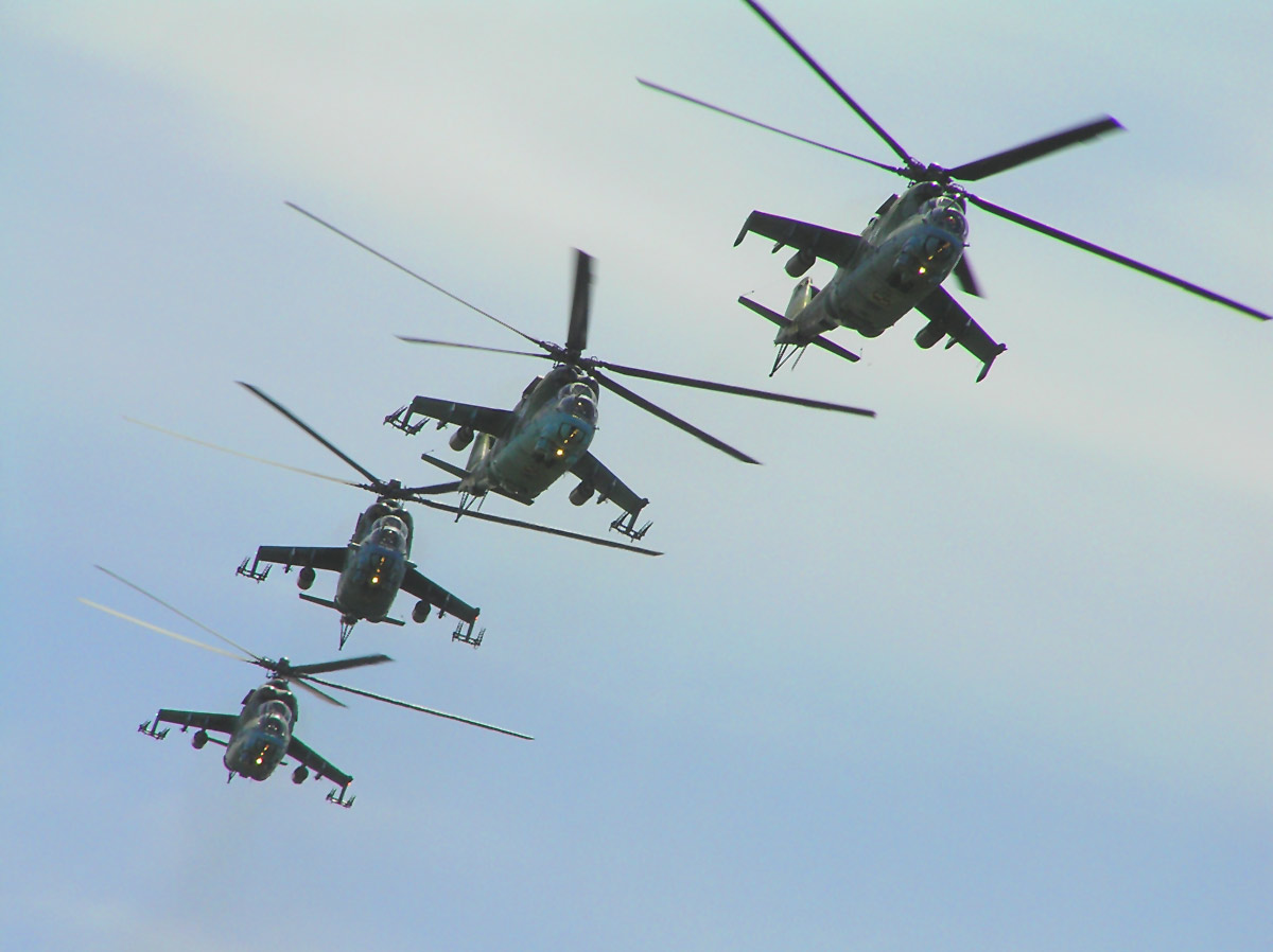 Helikopter MI-35P atau MI-24F Hind TNI-AD