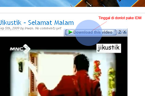 Download Video Youtube dengan IDM