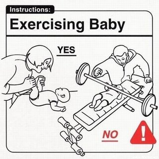 Melatih Bayi