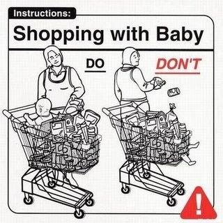 Berbelanja dengan Bayi
