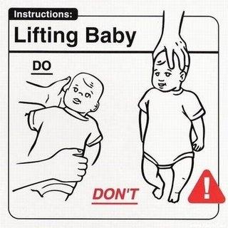 Mengangkat Bayi