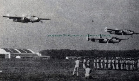 B-25 TNI-AU Low Pass