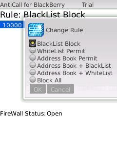 blackberry call blocker