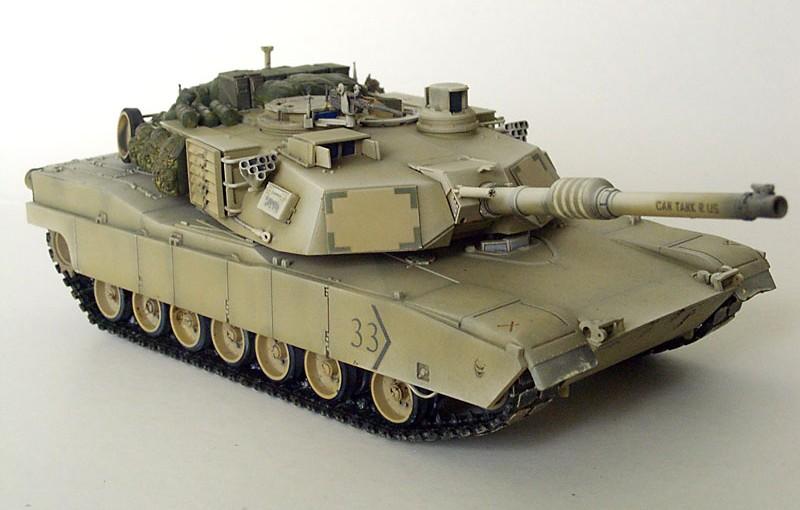 Belajar Merakit Model Kit Tank Modern