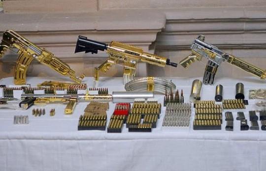 Gold M4A1