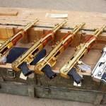 Senjata-Senjata Berlapis Emas (gold plated)