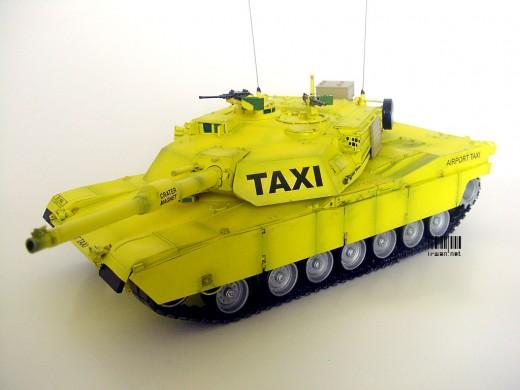 Model Kit M1A1 Abrams