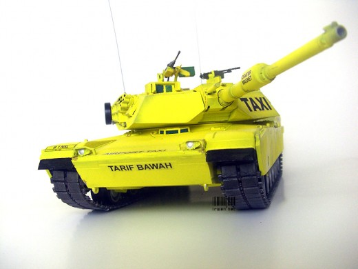 M1A1 Abrams Scale Model 1:35