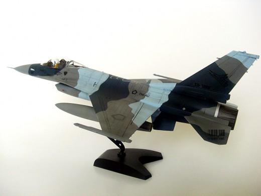 F-16A TNI AU Aggressor Scheme
