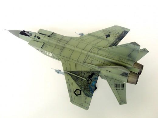 Model Kit Mig-31 Versi Batik, Kresna dan Gunungan