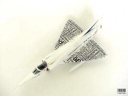 Mirage IIIR Typewriter Version