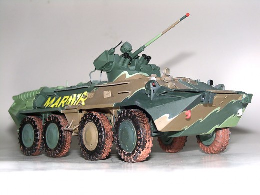 BTR-80A Marinir