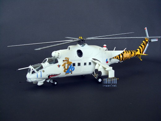 Merakit Model Kit Revell Mil Mi-24 Hind D Tigermeet