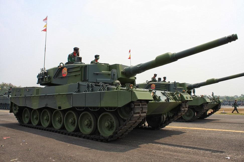leopard 2A4 TNI-AD