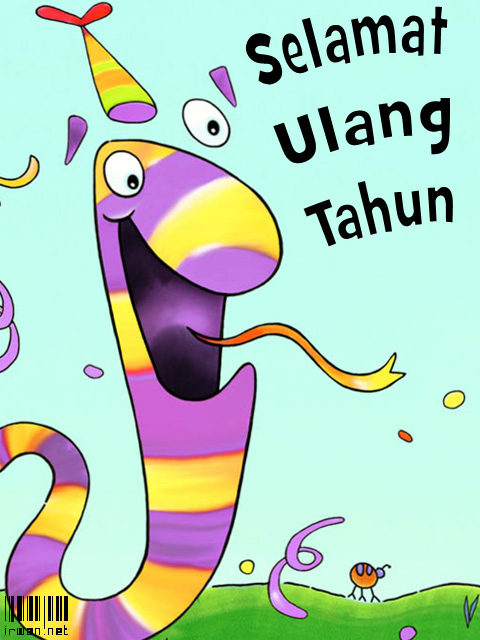 Kartu Ulang Tahun Anak-Anak – Irwan.Net