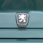Peugeot 406 Boot Badge (Emblem)