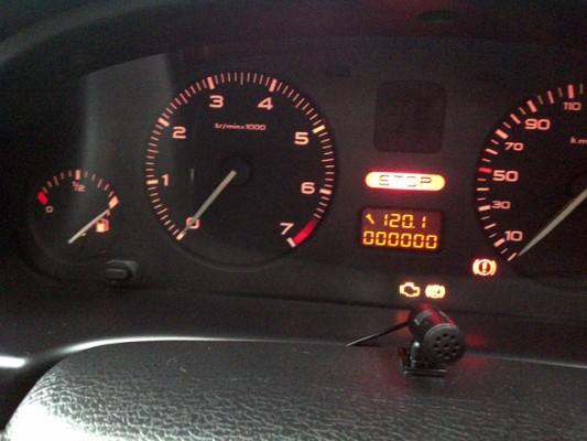 dashboard peugeot 406