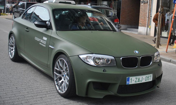 Matte Military Green Car Irwan S Smoking Room