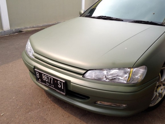 peugeot-406-vinyl-wrapping