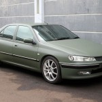 peugeot 406 army green