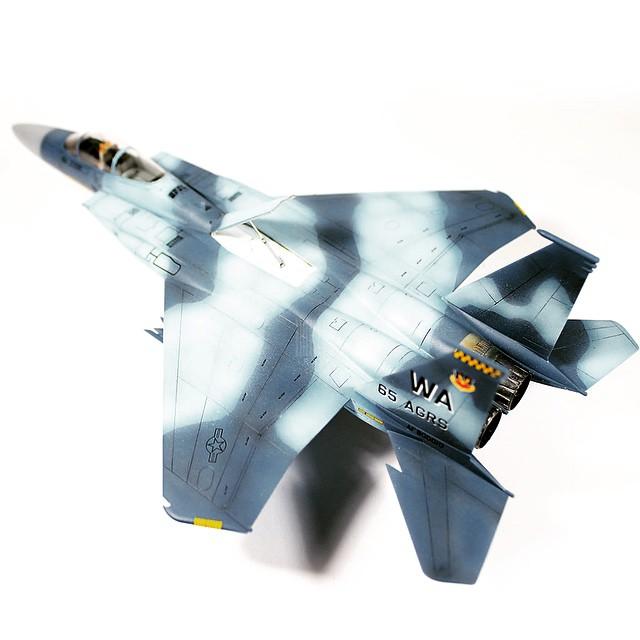 F-15C Aggressor Scheme #warbird #fighter #f15 #aggressor #sqdn #eagle #strikeeagle #flanker #scheme #modelkit #modellbau #modellismo #scalemodel #scalemodels #scalemodelkit #plasticmodel #miniature #usaf #airforce