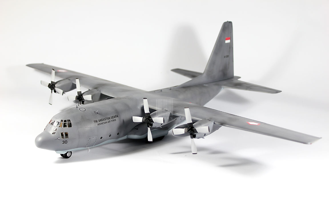 C-130H Hercules TNI-AU