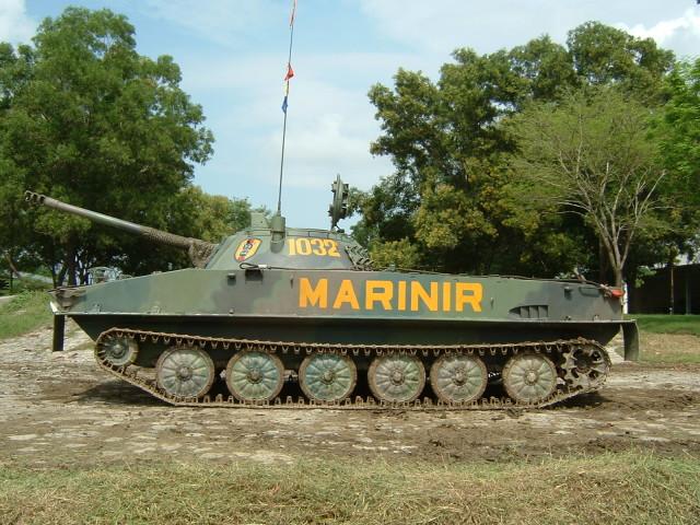 Tank PT-76 Marinir
