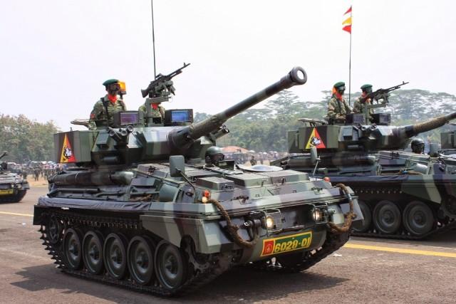 Tank Scorpion TNI-AD (source: Jakarta Greater)