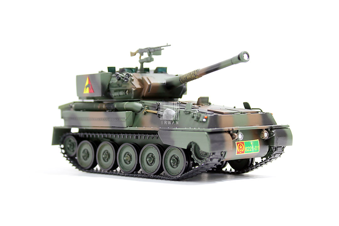 Mainan Replika Model Kit Tank Scorpion TNI-AD