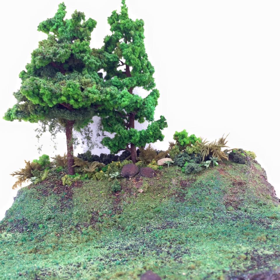 diorama-alam