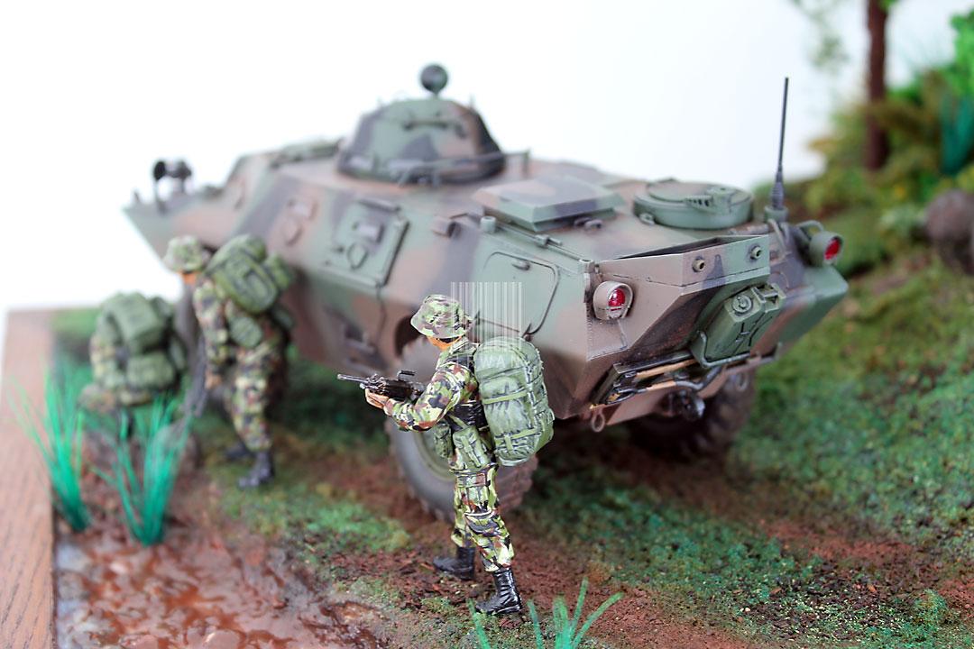 diorama-tentara