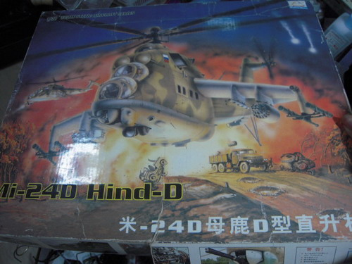 Mini Hobby Model MI-24 Hind D