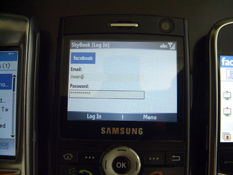 Facebook at Windows Mobile